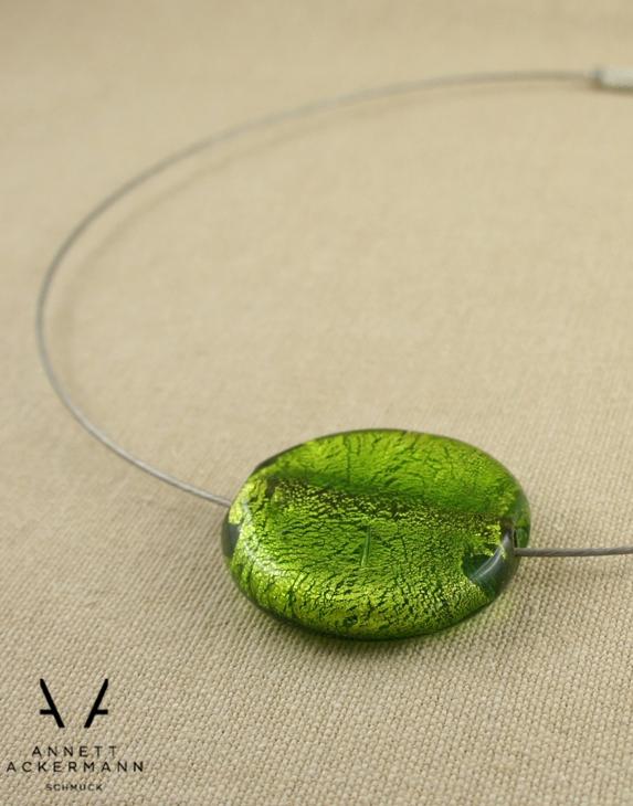 Green Gala // Collier