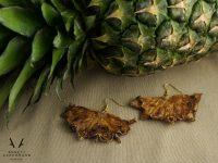 Ohrringe // Ernte Dank // Ananas halb