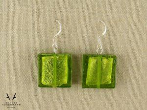 Greenery // Green Squares // Ohrringe
