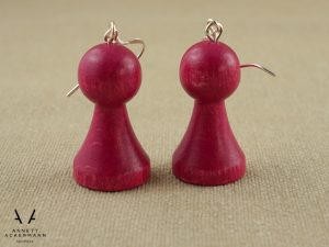 PLAY // Spielfiguren Magenta // Ohrringe